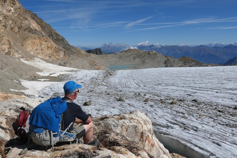 gletscher i Alperne