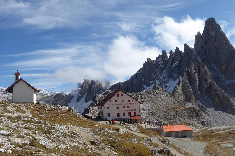 rejselogbog for vandring i Dolomitterne