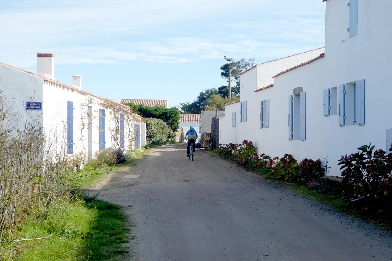 typiske huse på Noirmoutier og l'Île-d'Yeu