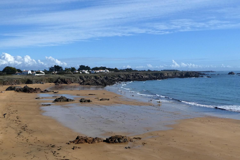 nordkysten af l'Île-d'Yeu