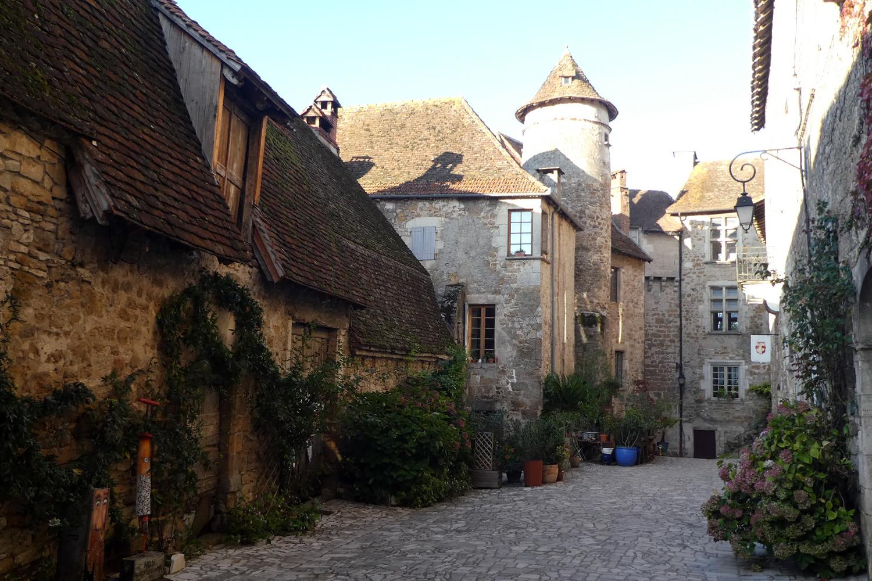Carennac i Dordogne