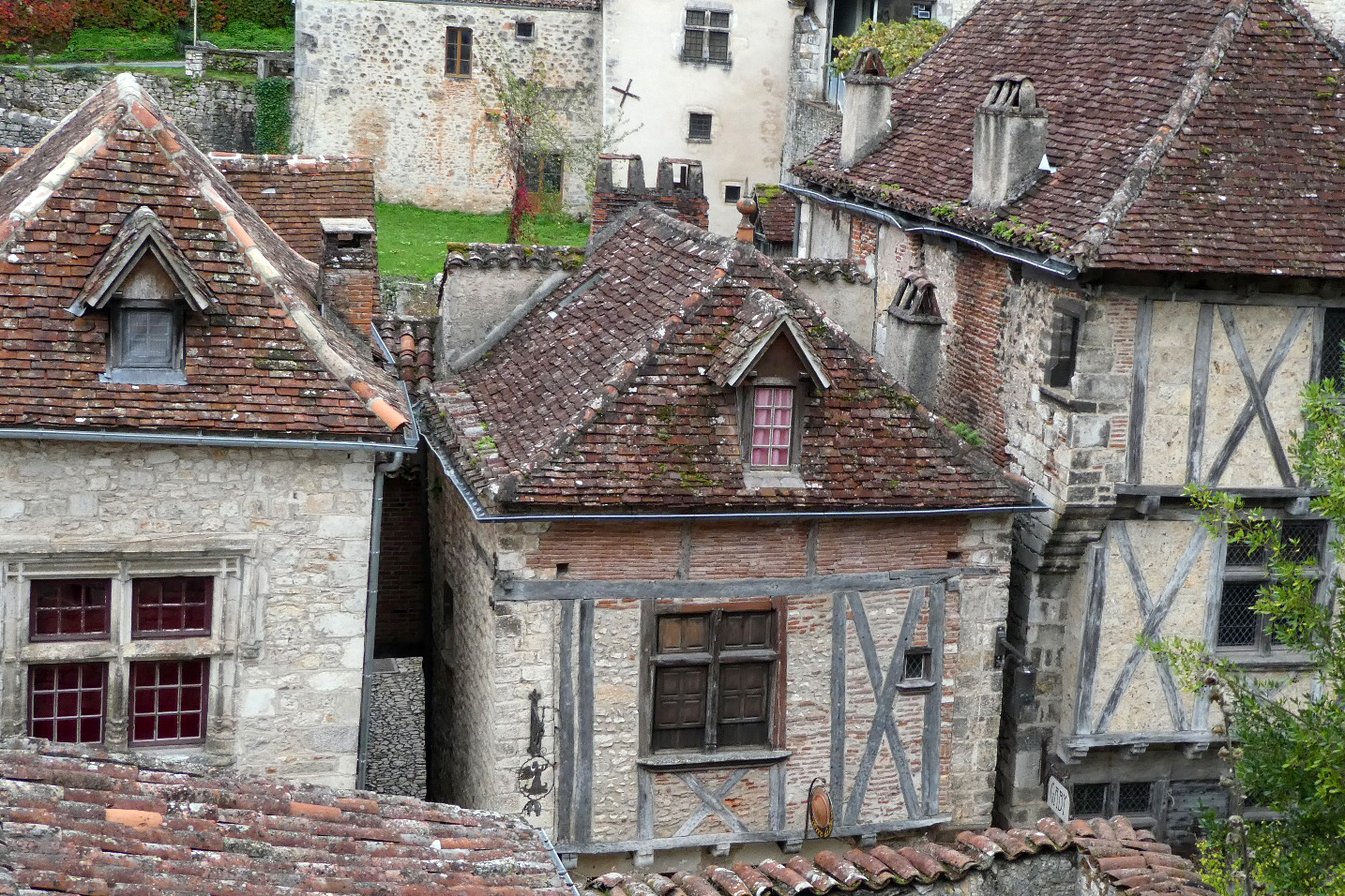 huse i Saint-Circ-Lapopier