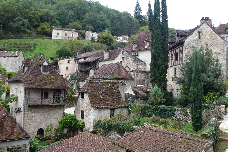 landsbyen Saint-Circ-Lapopier i Lot