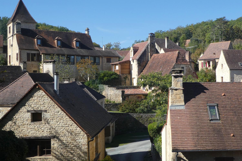 landsby i Dordogne