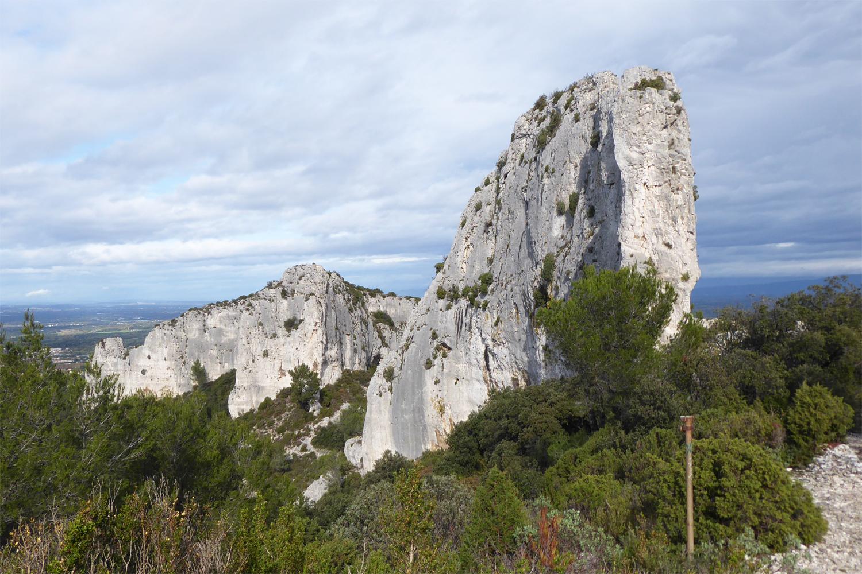 bjergområdet Les Alpilles