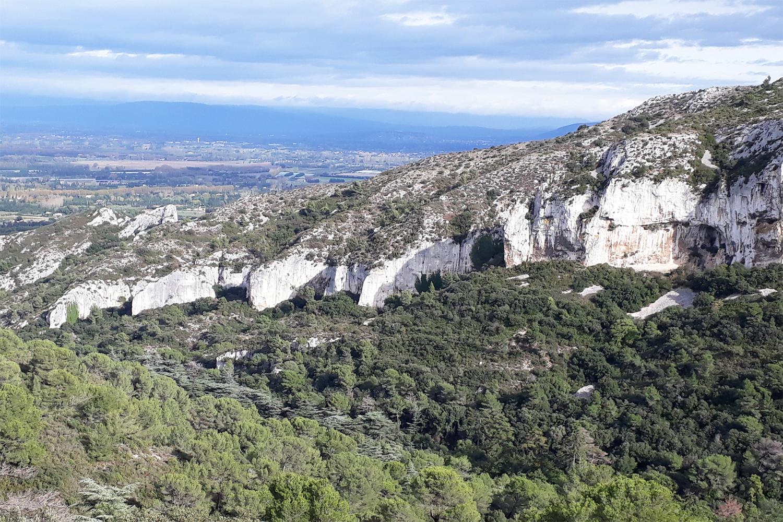 udsigt fra Plateau de la Caume