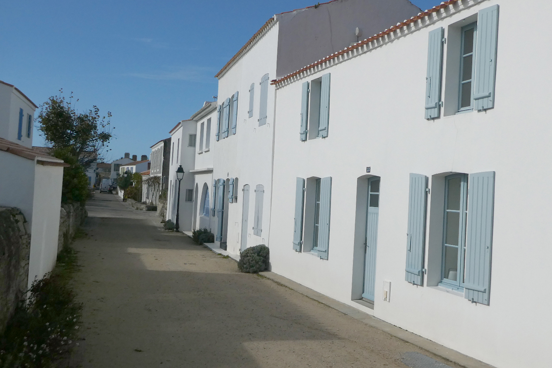 landsbyen Le Petit Vieil på Noirmoutier