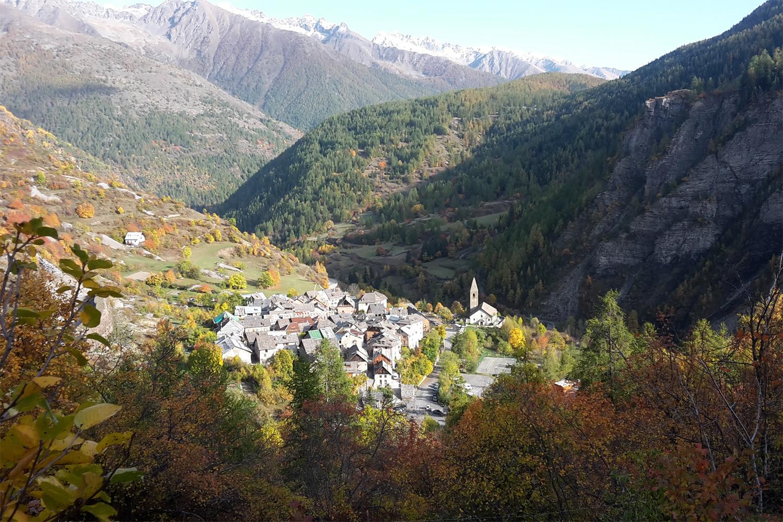 landsby i Mercantour