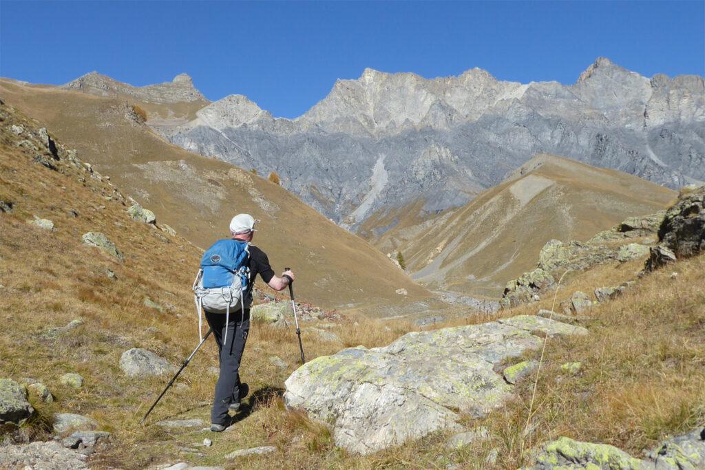 vandring i Mercantour Nationalpark