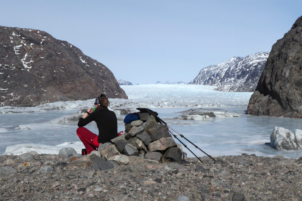 vandretur i Grønland