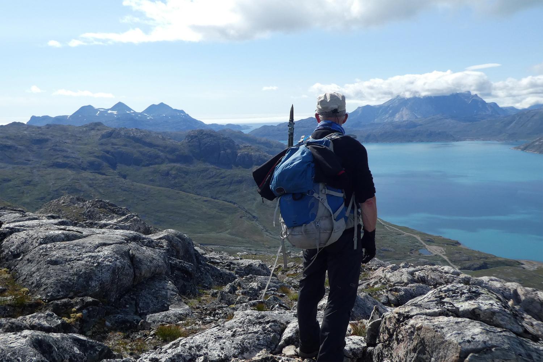 udsigt over Arsuk fjord
